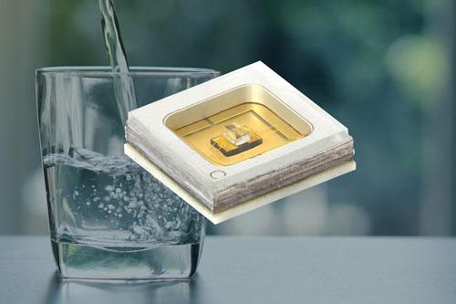 Vishay宣布推出新的陶瓷/石英基材的UVC(短波紫外线)发光二极管