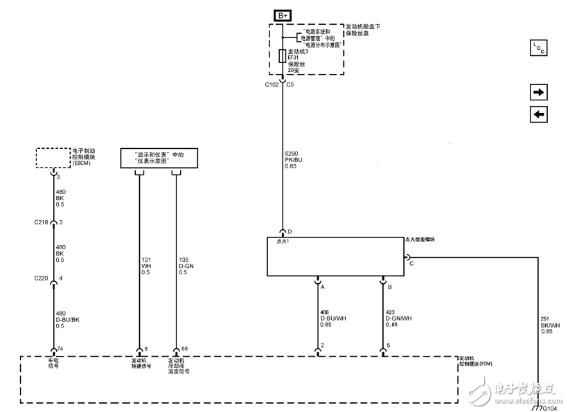 汽车点火系统电路图大全(电子点火/光电式电子点火/cd4max/多谐振荡器