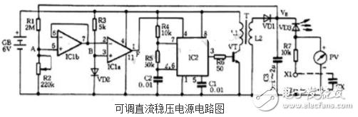 555制作的稳压电源电路图大全(开关调整管/直流稳压电源/24V转12V开关稳压电源)