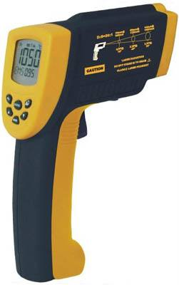 美国福禄克公司推出全球首款达到IP54防护等级的红外测温仪