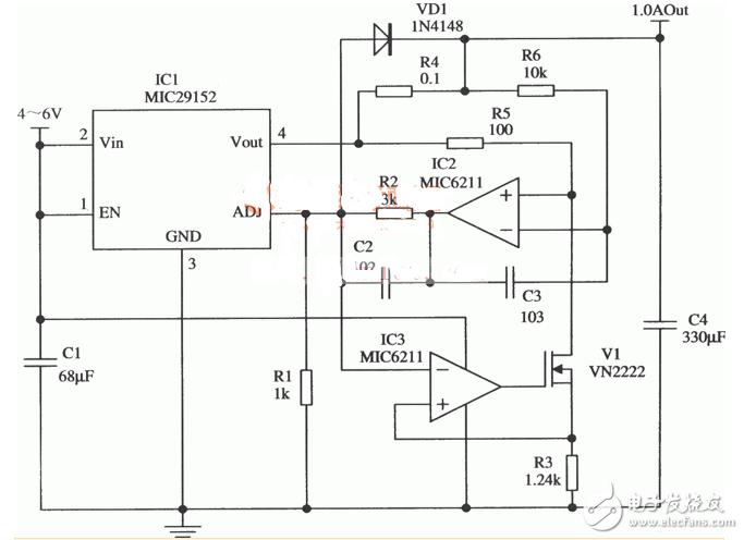 大电流恒流源电路图大全(LM393/SG3524/L296/稳压电源)
