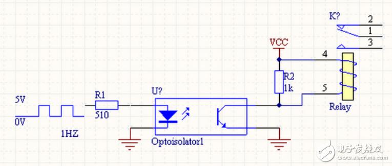 光耦驱动继电器电路图大全(光电耦合器/ULN2803 /开关电路)