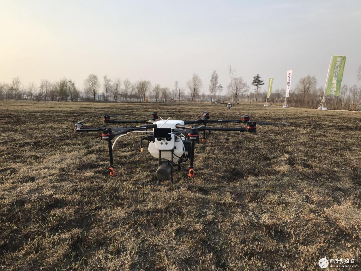 大疆植保无人机取代农业通航,黑龙江现代农业进入新时代