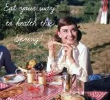 奥黛丽赫本的心灵治愈秘诀,让华为P20 Pro镜头下的美食拯救不开心