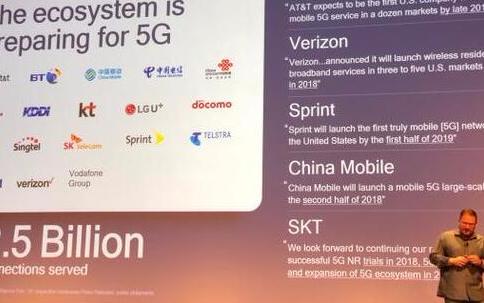高通准备在2018年推出首批5G智能手机,它们的...