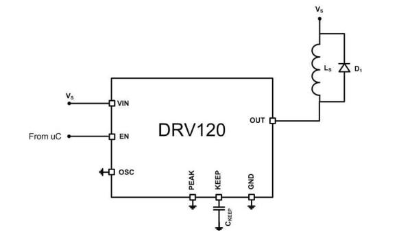 省电型流控螺线管驱动器
