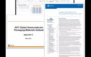 SEMI发表报告指出,2017年全球半导体封装材...