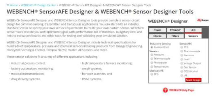 如何使用Webench进行LDC1000的PCB线圈设计的详细资料概述