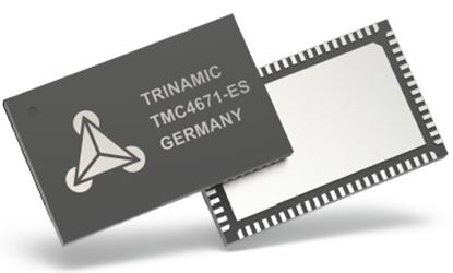 TMC4671基于硬件FOC伺服电机控制芯片适应BLDC/PMSM、两相步进、直流有刷、音圈电机