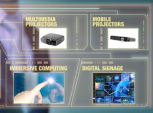 基于MEMS投影显示技术的几个创新型应用示例