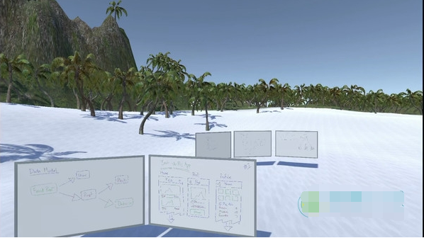 厌倦了办公室? 这款VR软件让你在海滩沙漠工作