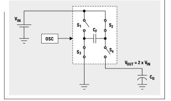 电荷泵服务的便携式设计 charge pumps shine 电子发烧友网