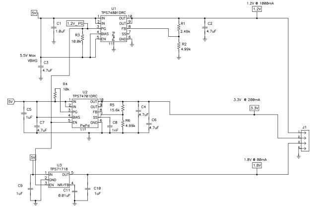 基于LDOS的TMS320C2834x微控制器电源简化方案