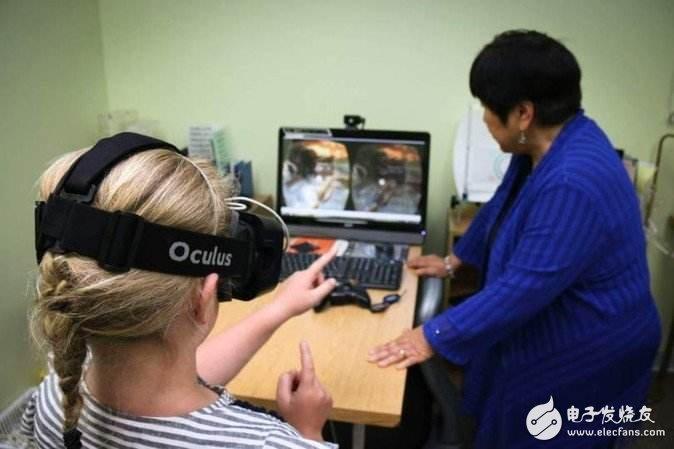 通过VR技术治疗视力障碍,眼部追踪技术将在VR行...