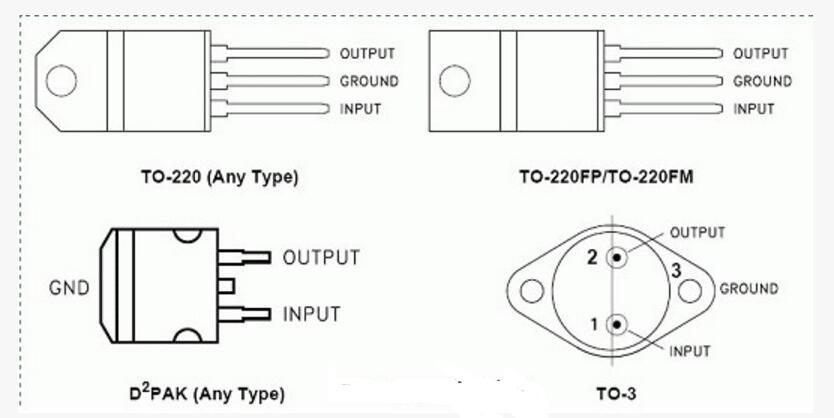稳压芯片L7805_cw7805和LM7805有...