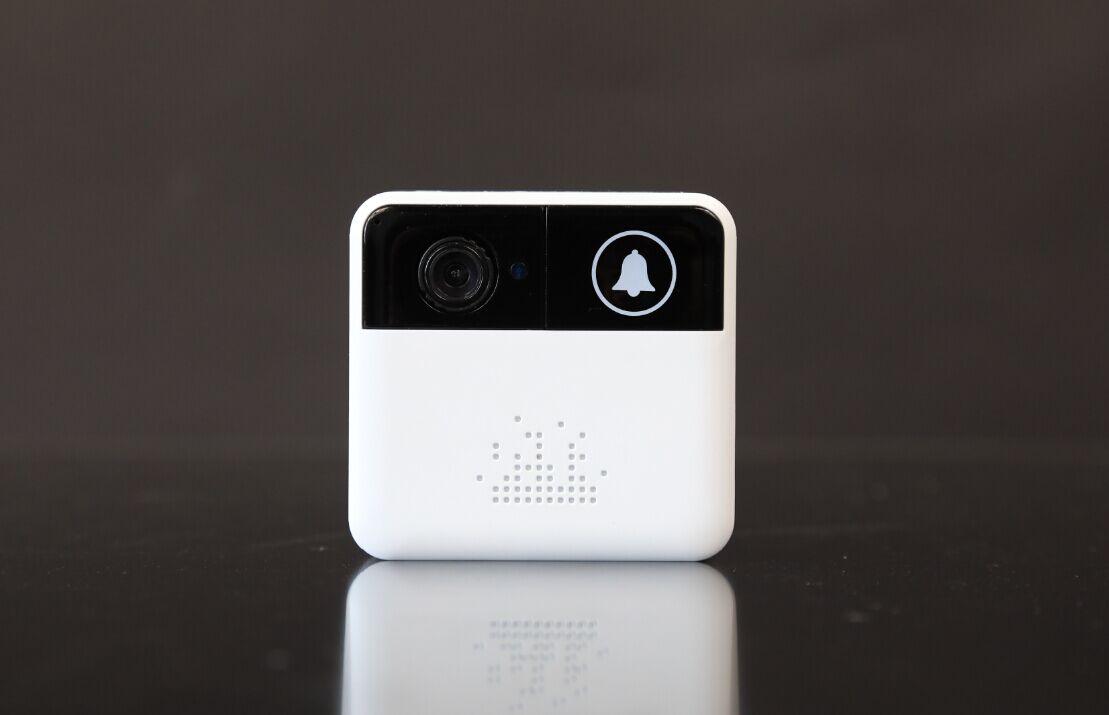 雄迈小方智能可视门铃:安防级专业低照度传感器搭载华为LiteOS系统