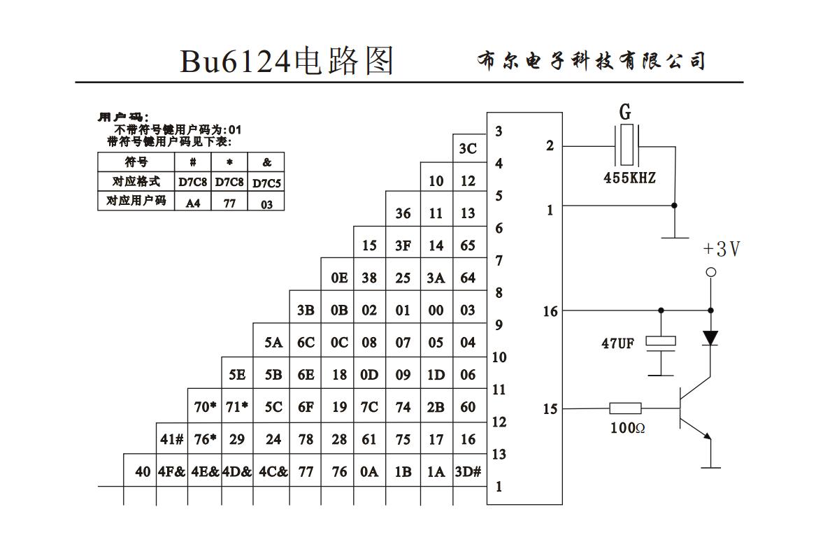 bu6124电路图资料下载
