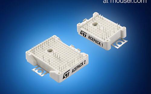 贸泽电子即日起备货STMicroelectronics (ST) 的ACEPACK™ IGBT模块
