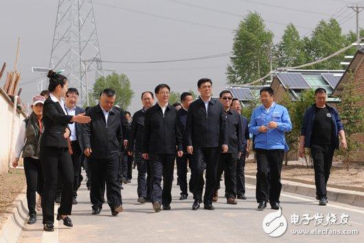 公司董事长舒印彪赴青海调研电力扶贫情况