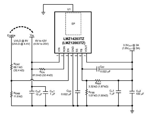 应用笔记2024 LMZ1420X/LMZ1200X评估板