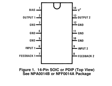 LM1877双音频功率放大器