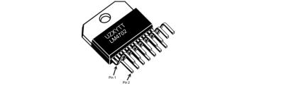 LM4702音频功率放大器系列立体声高保真200伏静音驱动器