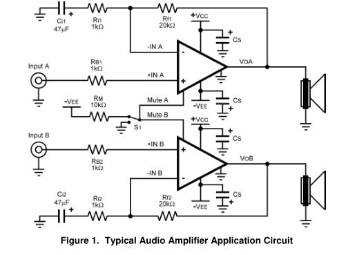 LM4780序曲音频功率放大器系列立体声60W,单声道120瓦音频功率放大器静音