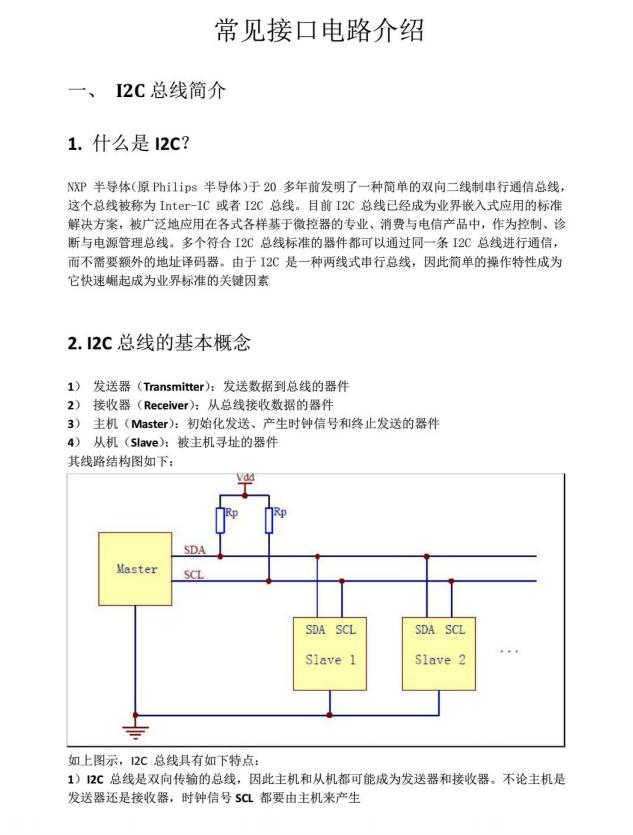 常见的接口电路讲解参考资料下载