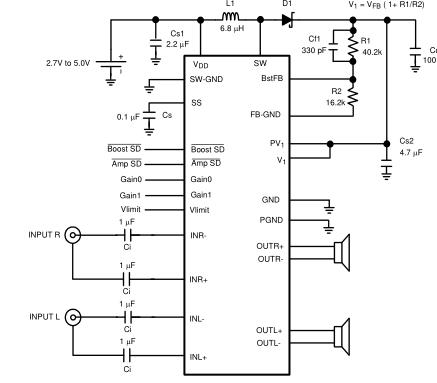 LM48520提升立体声D类音频功率放大器,输出扬声器保护和扩频