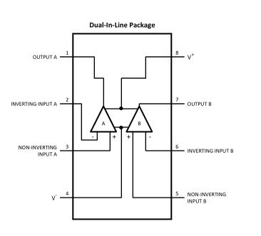 LME49723双高保真音频运算放大器