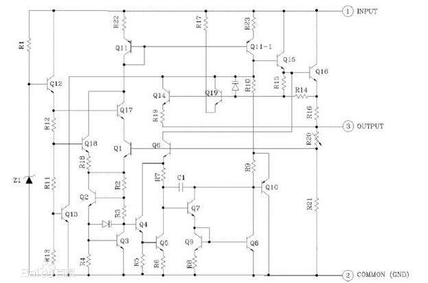 7805系列的稳压器的好坏用指针式万用表如何判断