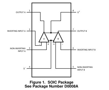 LME49725 PowerWise®双高性能,高保真音频运算放大器