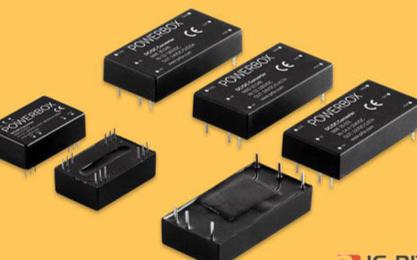 Powerbox推出4款全新的超宽输入电压范围的、板式安装的DC/DC转换器