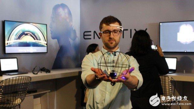 黑科技来临!Emotiv打造EEG脑波感应头盔 可用意念控制无人机
