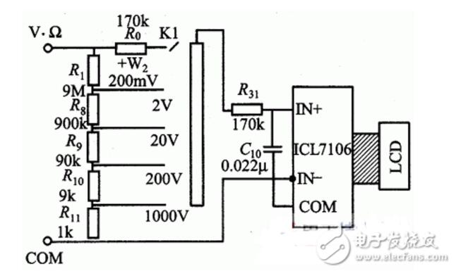 LCR表和万用表的区别是什么 详细介绍图片