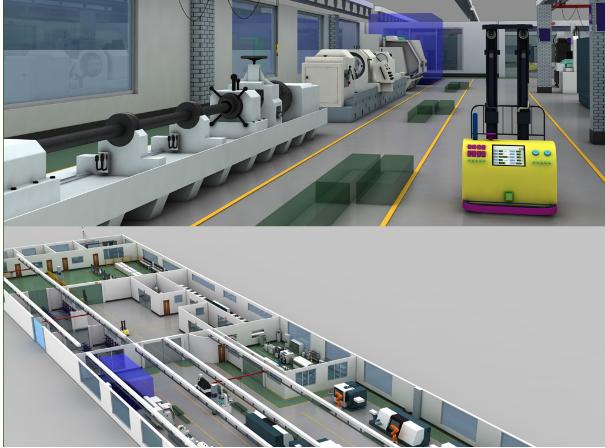 工业4.0工厂:模块化、数字化、自动化和智能化