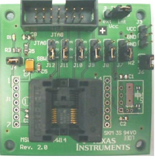 通过I2C主控软件实现TSP60250的MSP430接口