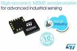 意法半导体推出了其第一款产品——IIS3DHHC低噪声三轴加速度传感器