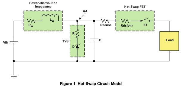 高瞬态环境下TPS233X热插拔控制器的保护