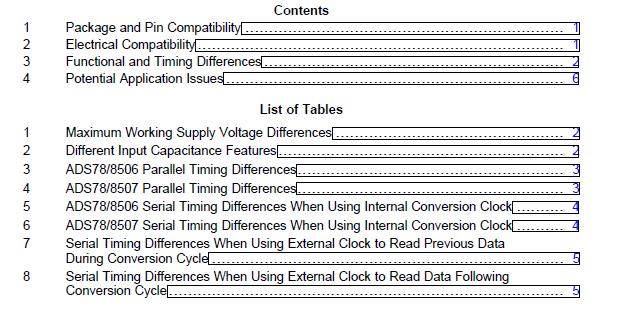从ADS7806,07升级到ADS8506,07可能出现的兼容性问题的解决方案概述
