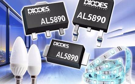 Diodes 公司推出 AL5890 线性定电流...
