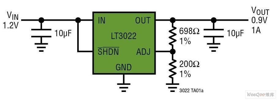 一款适合低电压转换的新型单电源线性稳压器
