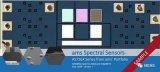 iPhoneX定制版多光谱传感器芯片ams提供三款标准版AS726X系列光谱传感器