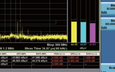 EMI预兼容N9000B+N6141C近场探头方...