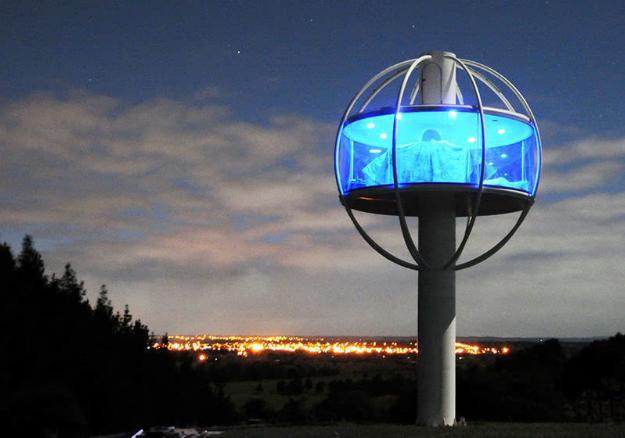 """把电影搬进现实的LED 灯具界的""""空中楼阁"""""""
