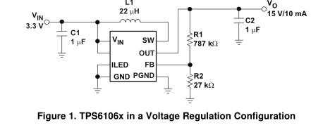 TPS61060动态电压调整