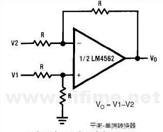 lm4562应用电路图大全(六款耳机放大器/功率放大器/前置放大器电路)