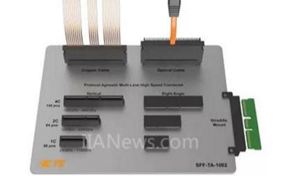 泰科电子推出了Sliver内部电缆互连系统