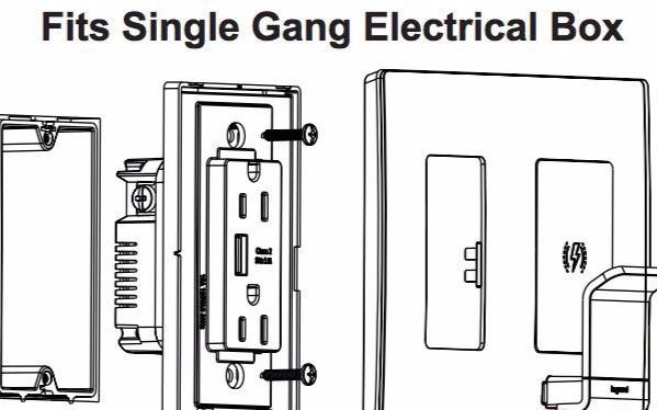 罗格朗发布了一款通过 Qi 标准认证的无线充电墙面插座
