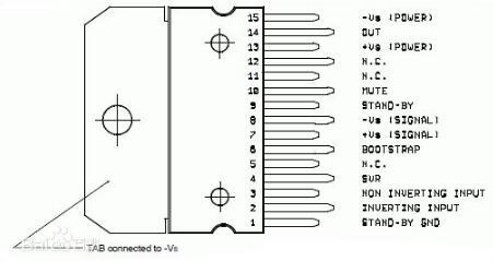 tda7294引脚功能和电压_三款tda7294...